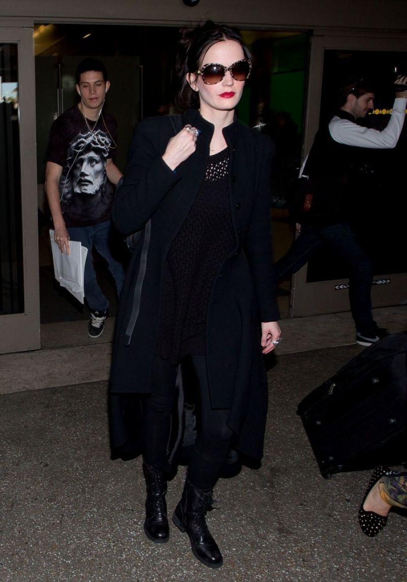 Eva Green Style - Arrives at LAX Airport - Jan. 2014