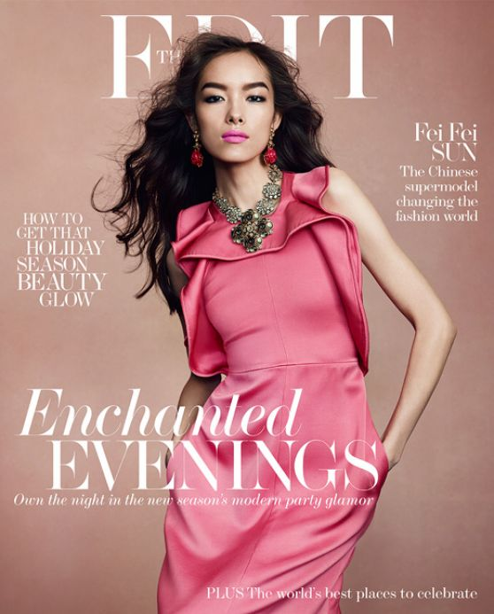 Fei Fei Sun - THE EDIT Magazine, December 26, 2013 Issue