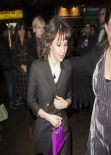 Felicity Jones Night Out Style - Arrives at the Girls UK Premiere After Party, Jan. 2014