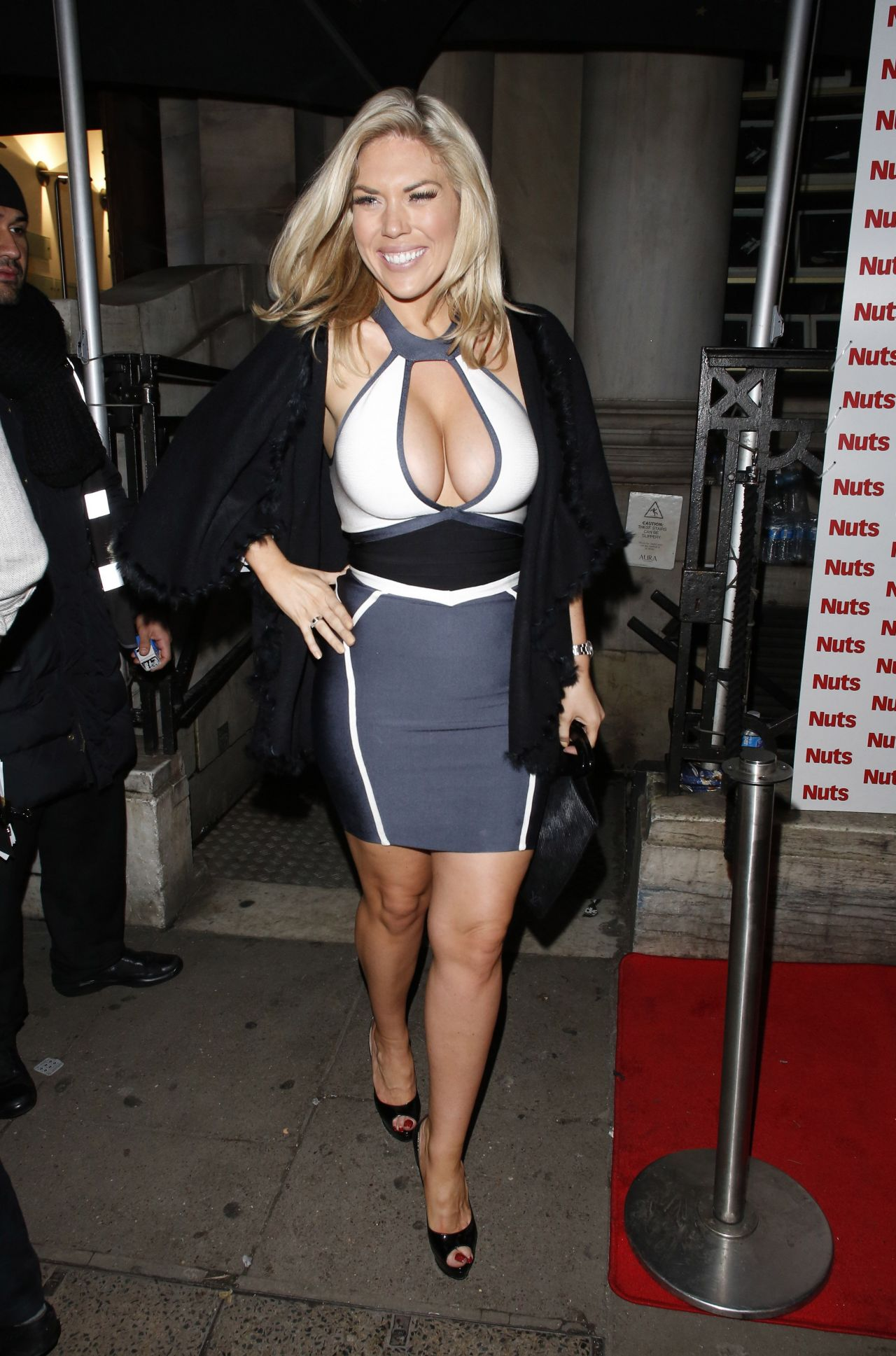 Frankie Essex at NUTS Magazine Party in London - January 2014