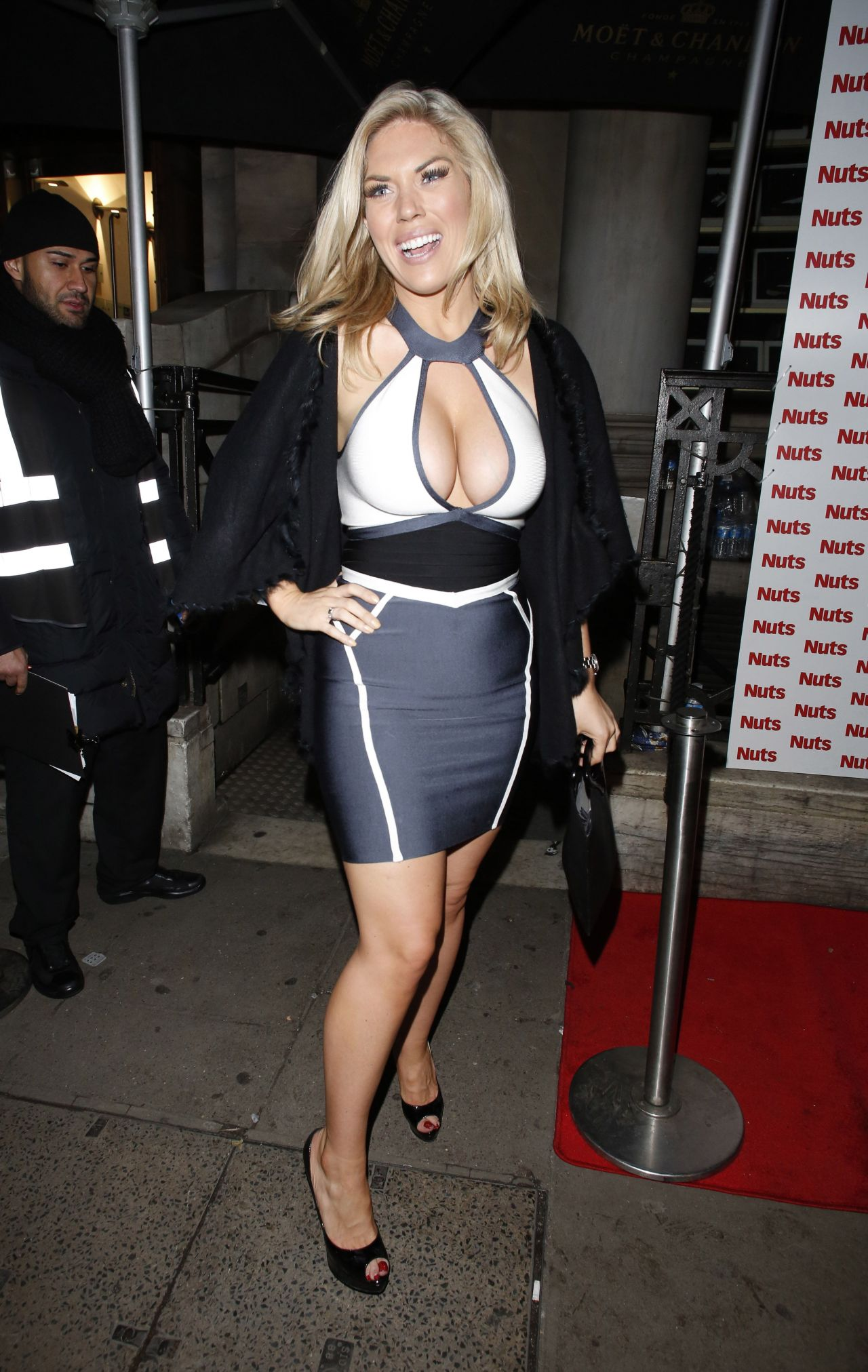Frankie Essex At Nuts Magazine Party In London January 2014