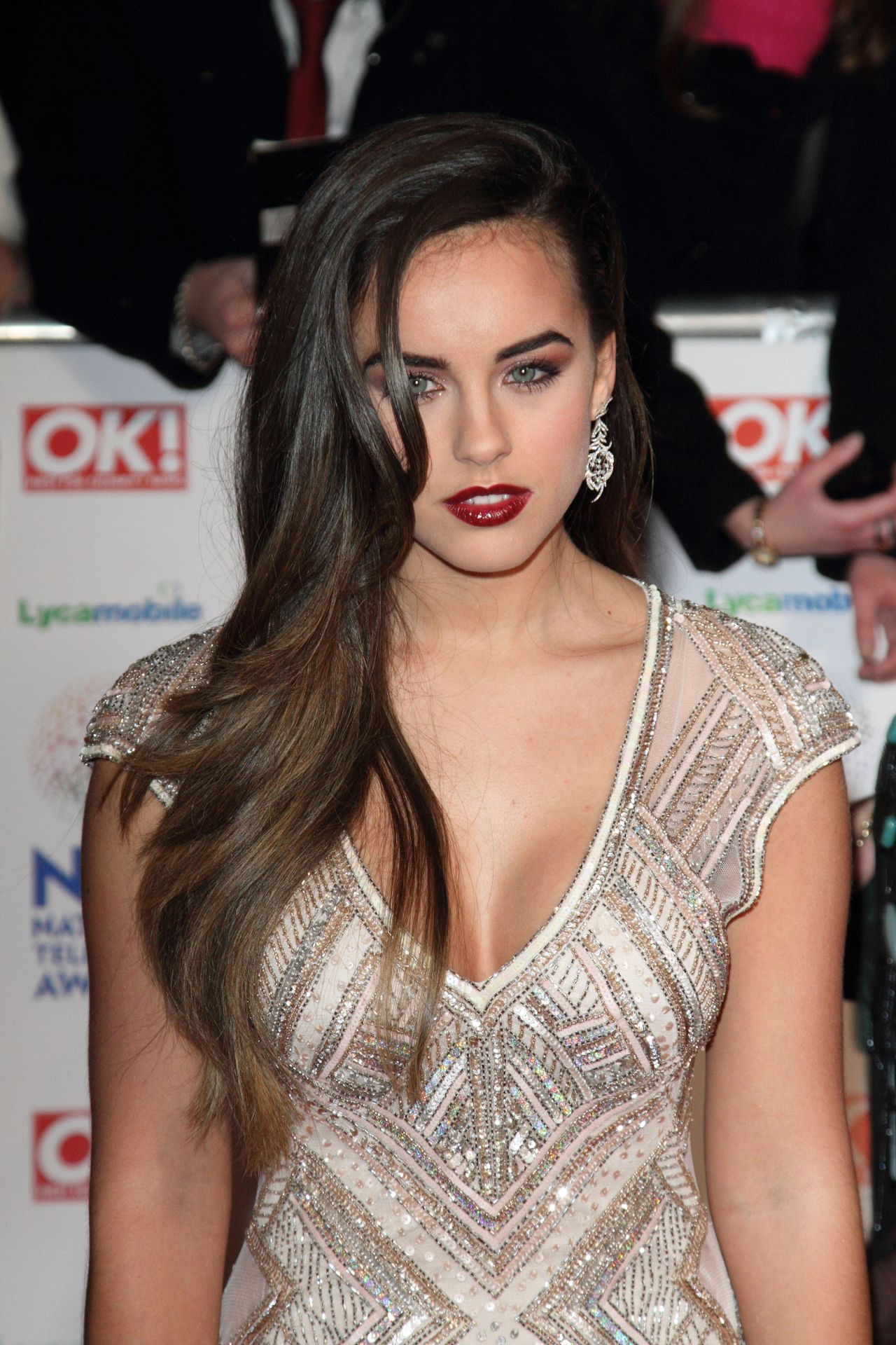 Georgia May Foote at National Television Awards 2014 in London