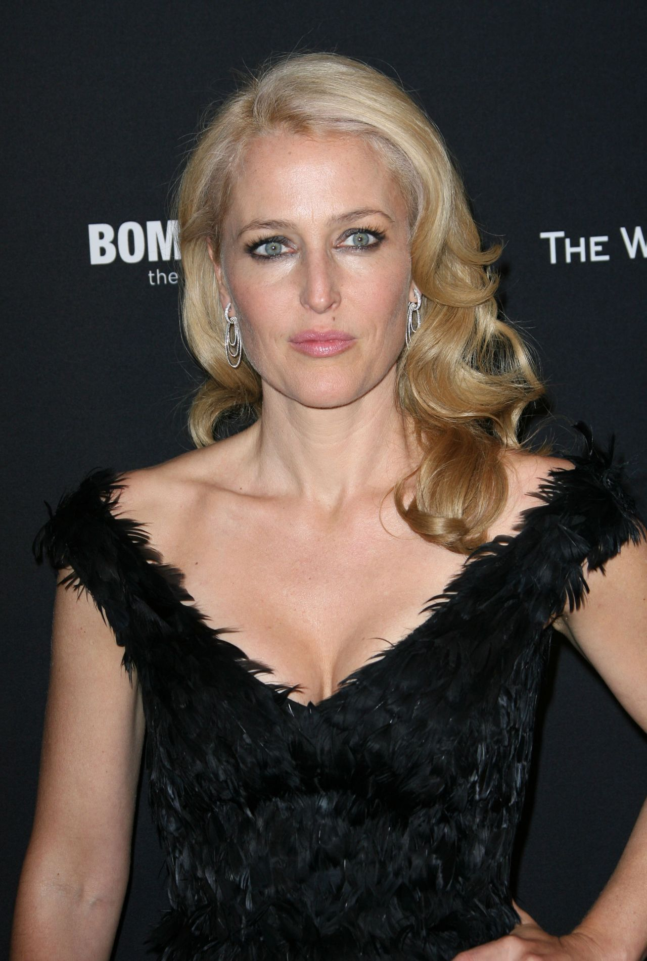Gillian Anderson at The Weinstein Company Golden Globe 2014 After Party
