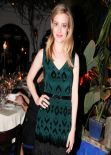 Gillian Jacobs - NYLON Magazine dinner, Los Angeles, January 2014