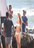 Gisele Bundchen Bikini Candids - Photoshoot for H&M in Costa Rica, January 2014