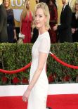 Gretchen Mol Wears J. Mendel Gown at 2014 SAG Awards