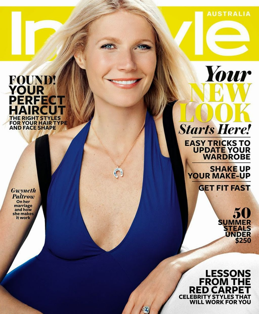 Gwyneth Paltrow - INSTYLE Magazine (Australia) - January 2014 Cover