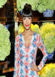 Hannah Simone - Tory Burch Rodeo Drive Flagship Opening in Beverly Hills, Jan. 2014