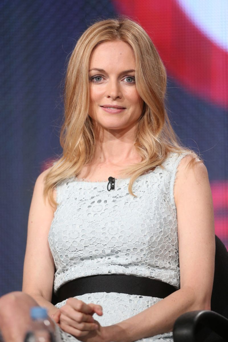 Heather Graham Attends Winter TCA Tour: Day 1 in Pasadena, January 9 2014