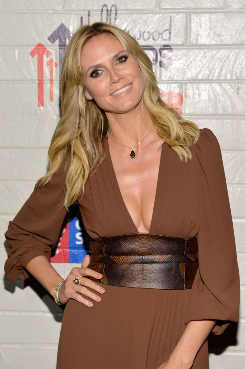Heidi Klum - Hollywood Stands Up To Cancer Event, January 2014