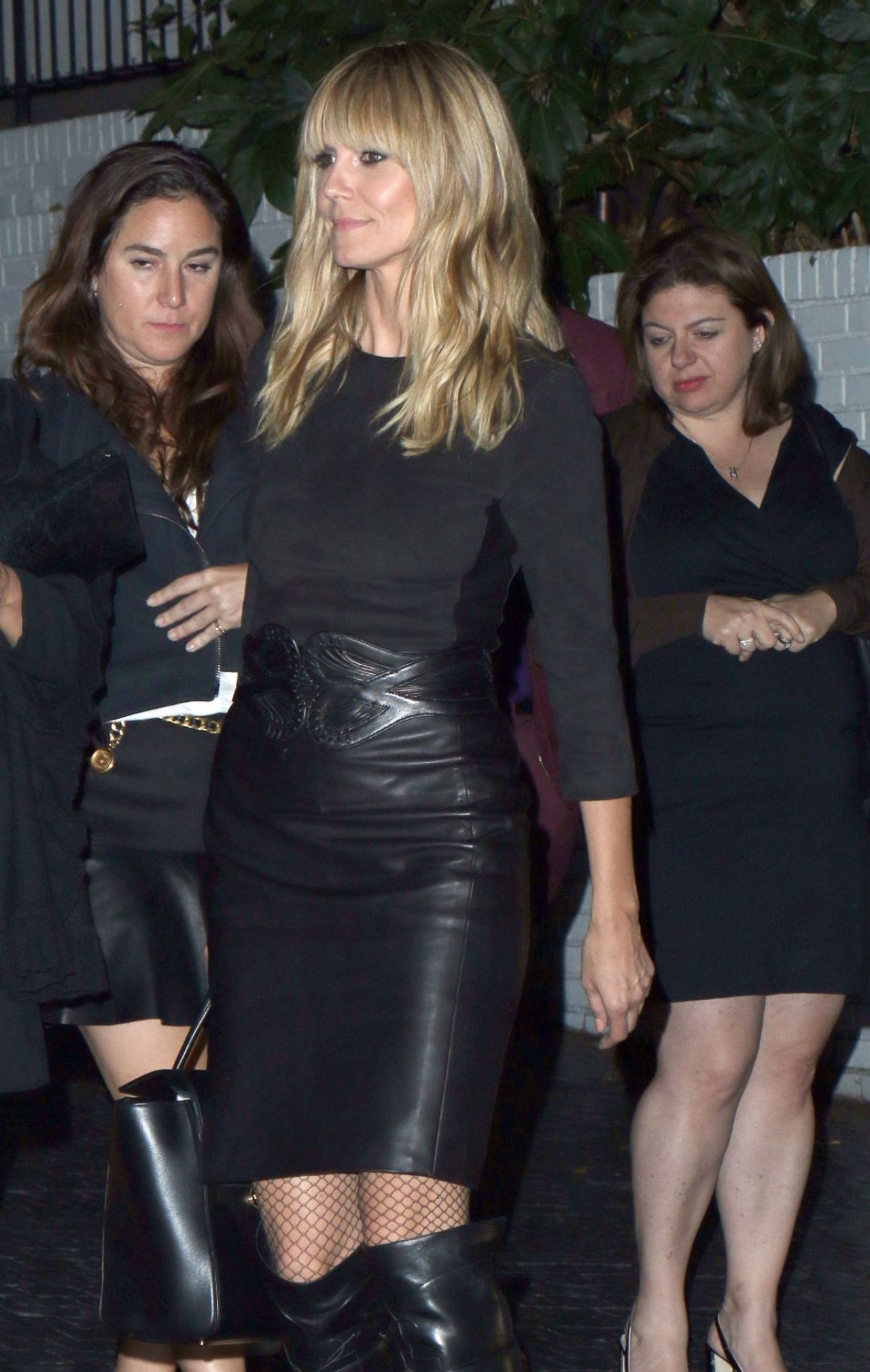 Heidi Klum - The annual Midnight Grammy Brunch at Lure Nightclub in Hollywood, January 2014