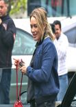 Hilary Duff - Heads to a Lunch at Cecconi