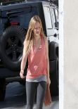 Hilary Duff - Leaving the Gym - January 2014