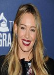 Hilary Duff on Red Carpet - Delta Air Lines 2014 Grammy Weekend Reception