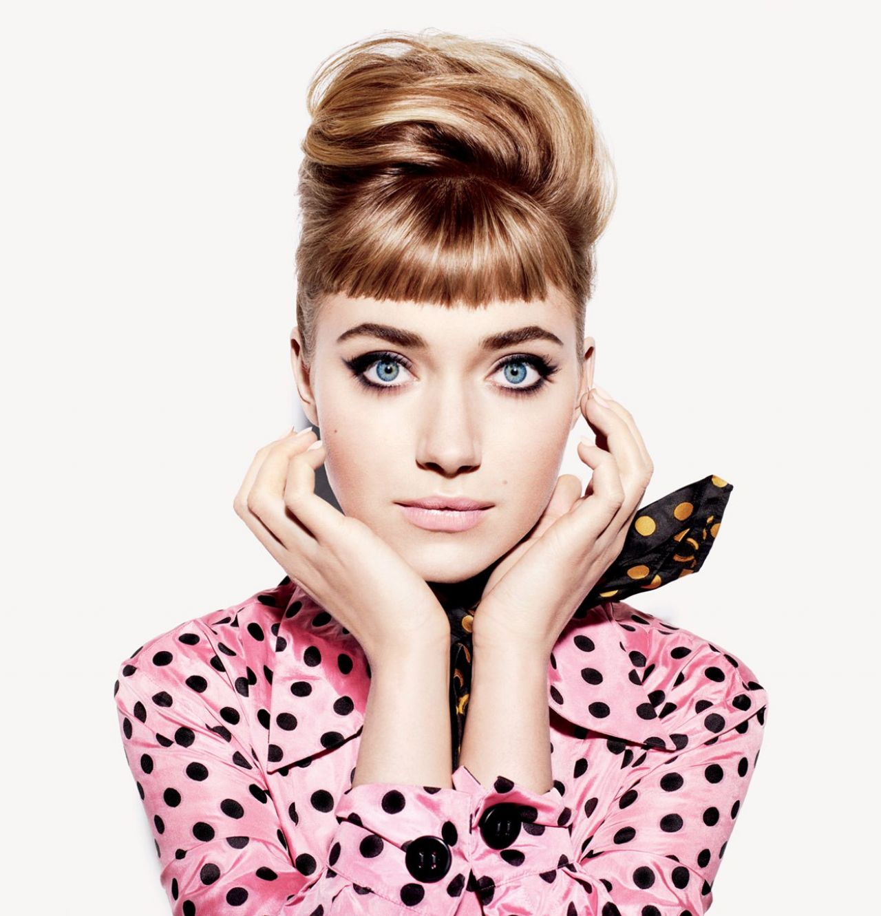 Imogen Poots - VANITY FAIR Magazine - December 2013 Issue - Miguel Reveriego Photoshoot
