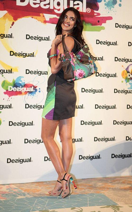 Irina Shayk - Desigual Colection Launch in Barcelona - January 2014