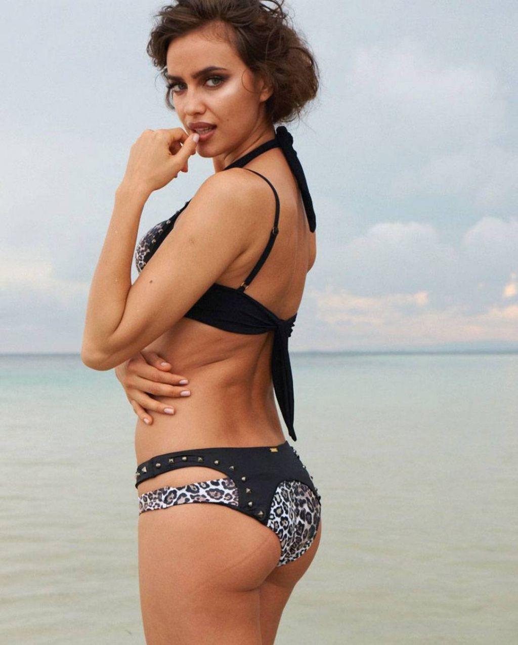Irina Shayk Photoshoot - Beach Bunny 2014