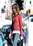 Isla Fisher Street Style - Studio City, January 2014