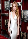 Isla Fisher Wears Oscar de la Renta Dress at 2014 SAG Awards