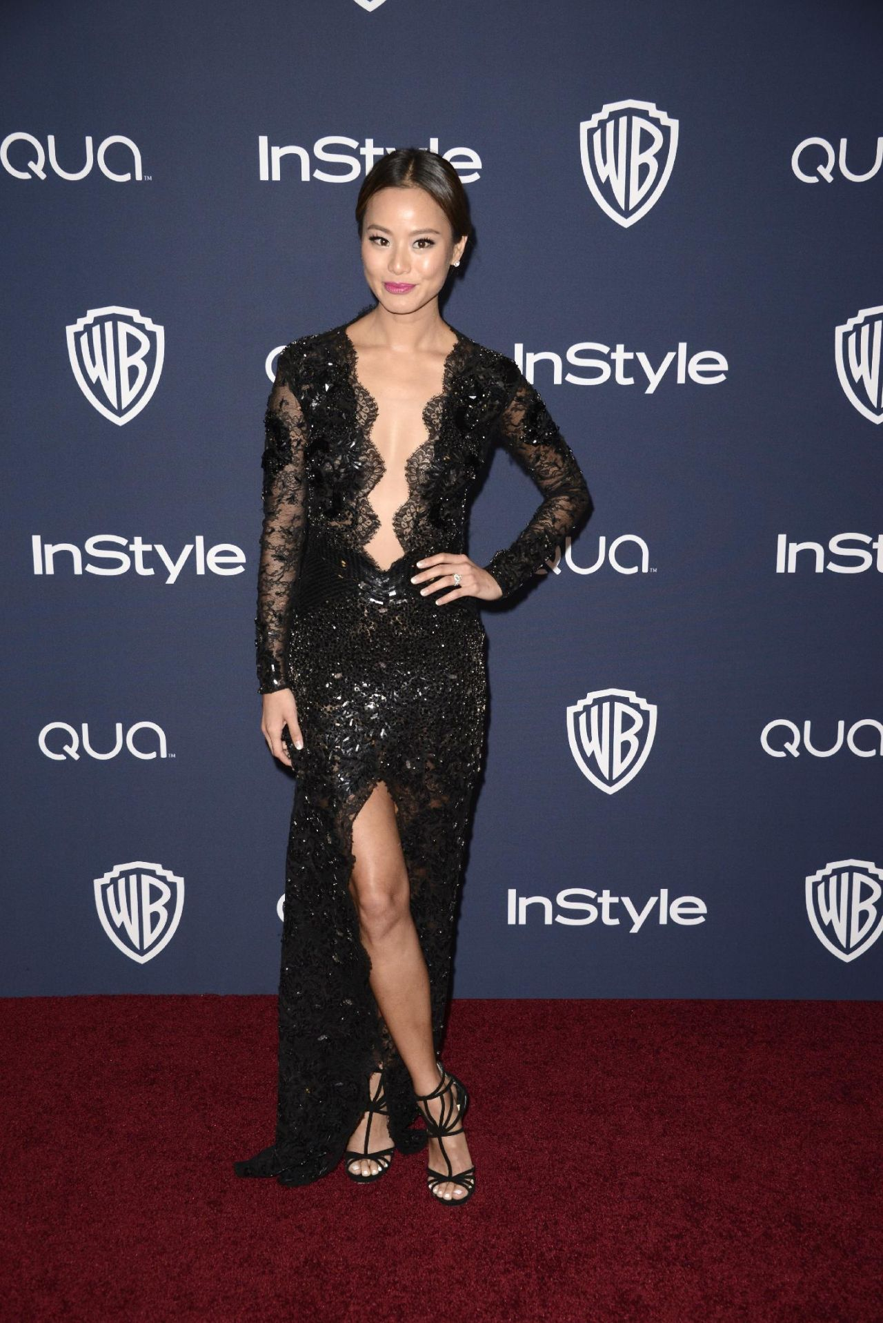 Jamie Chung - InStyle & Warner Bros. 2014 Golden Globes Party