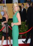 Jane Krakowski Wears Roland Mouret Gown at SAG Awards, January 2014