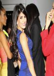 Jasmin Walia Night Out Style - Club 195 Epping Essex - January 2014