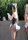 Jayde Nicole - Dressed as a Playboy Bunny, January 2014