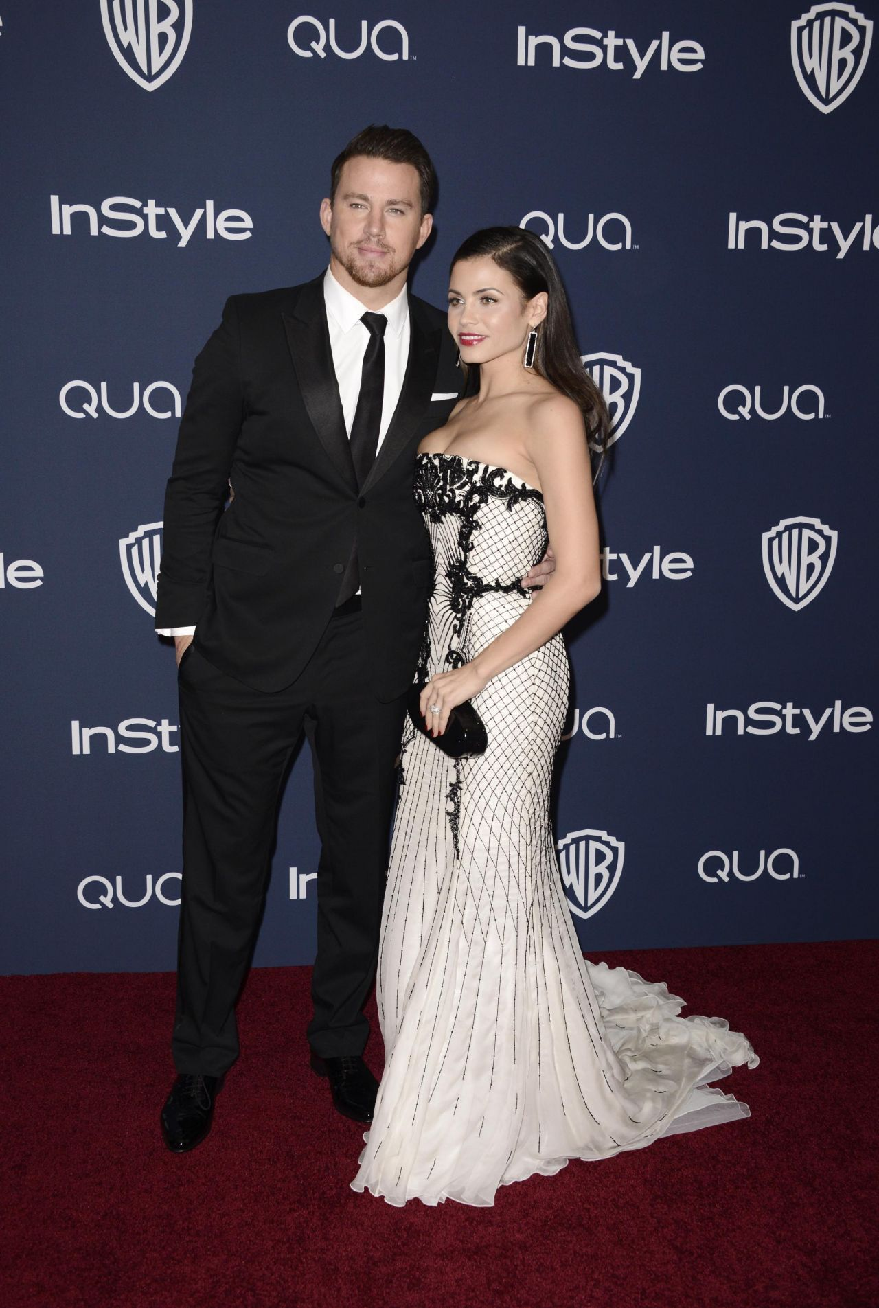 Jenna Dewan-Tatum - InStyle & Warner Bros. 2014 Golden Globes Party