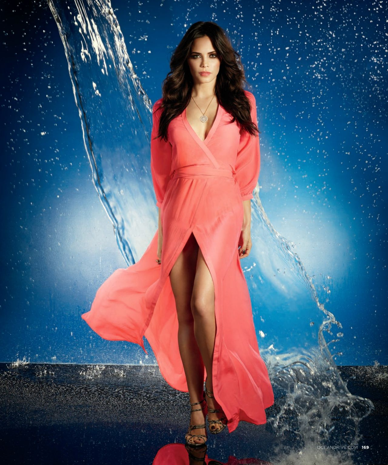 Jenna Dewan-Tatum - OCEAN DRIVE Magazine - January 2014 Issue