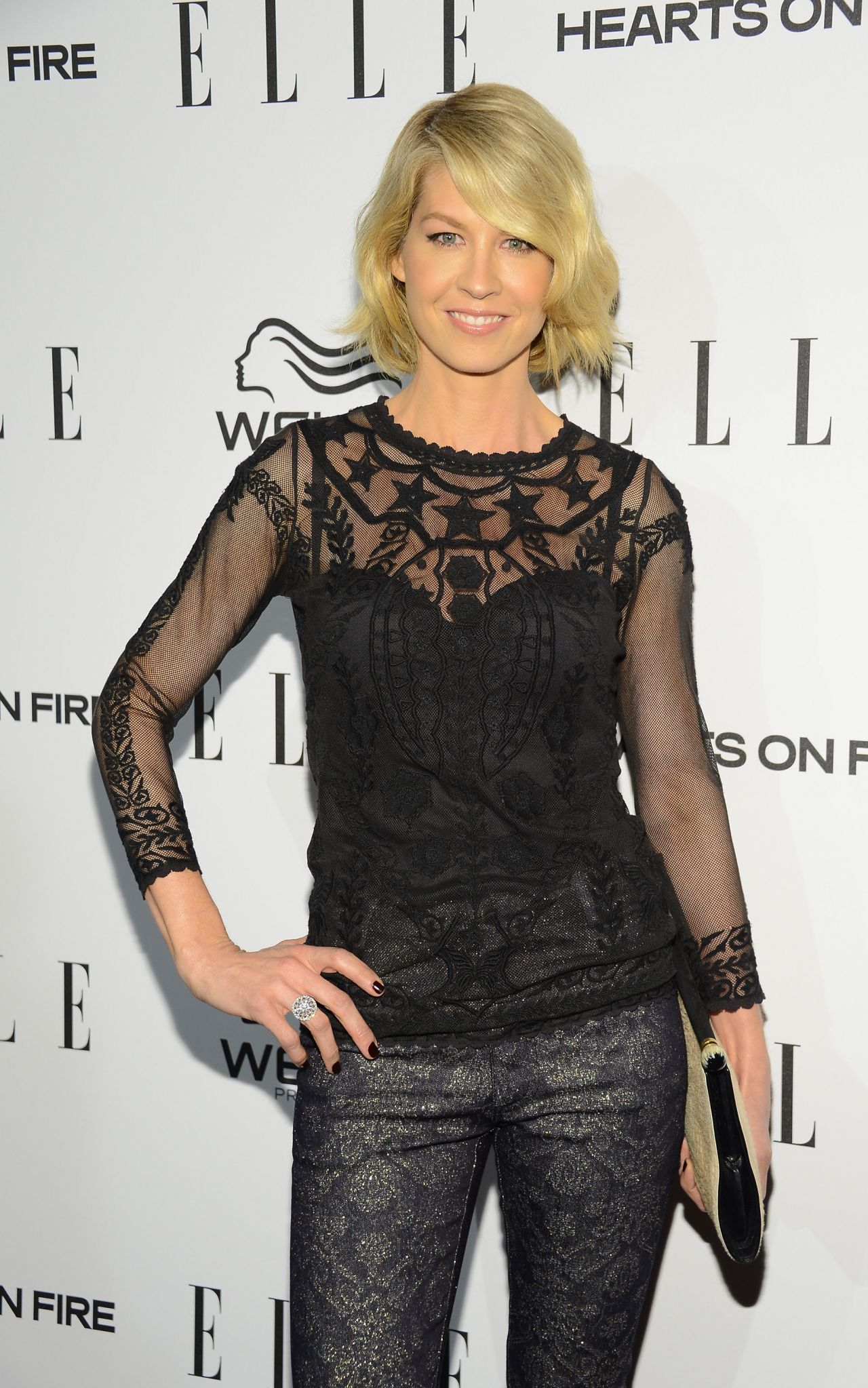 Jenna Elfman at 2014 Elle's Women In Television Celebration