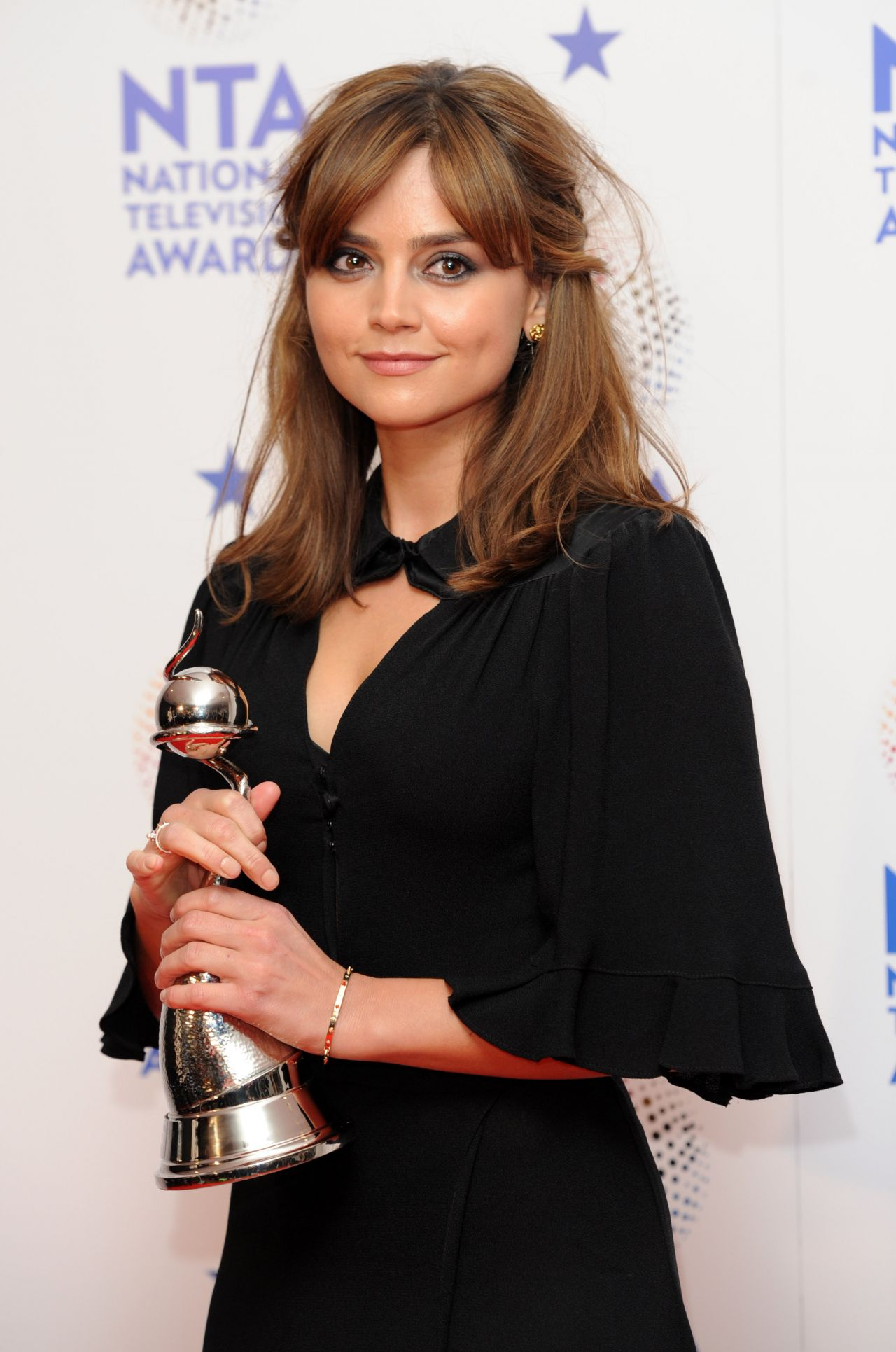 Jenna Louise Coleman at National Television Awards 2014