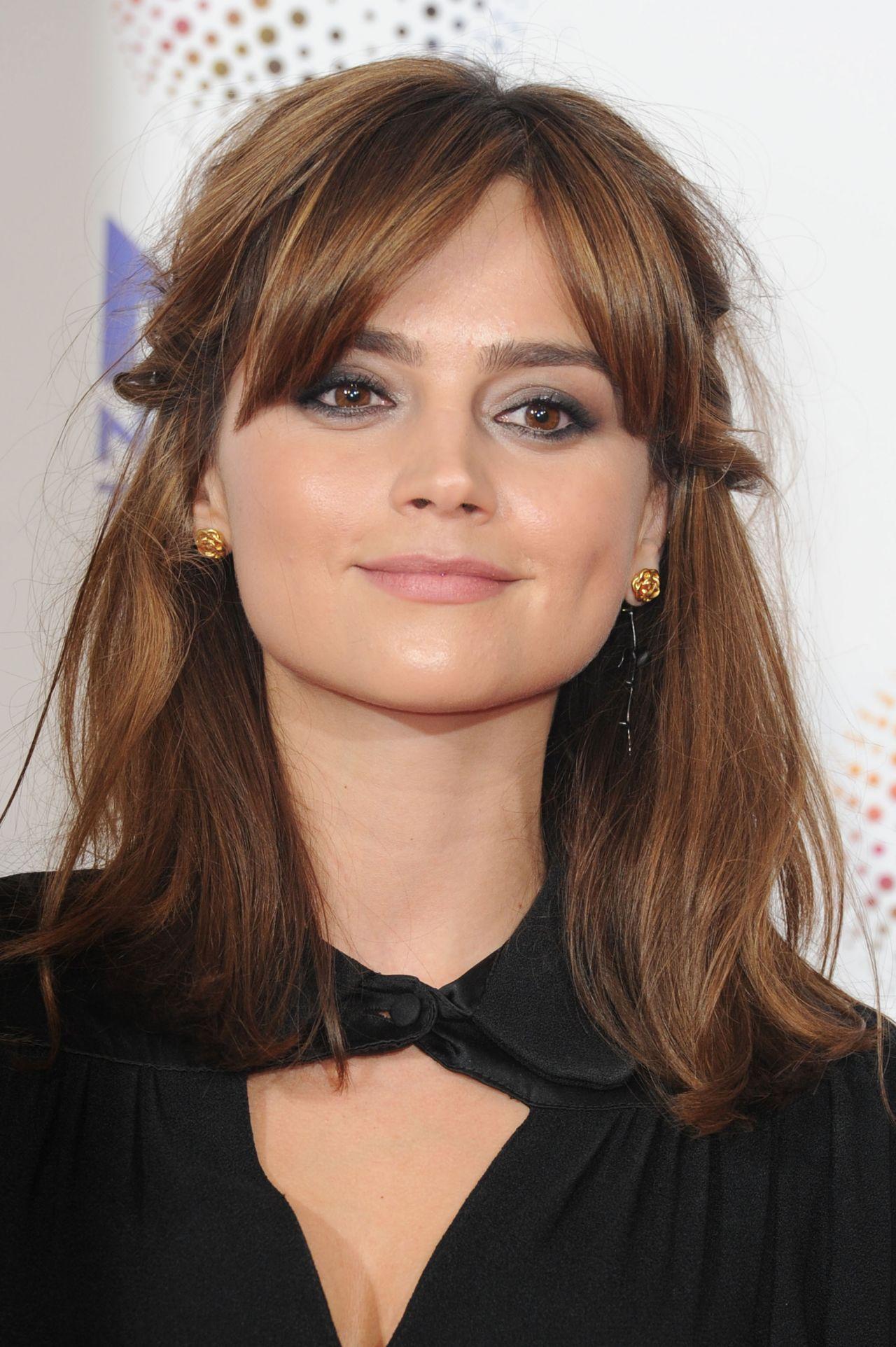 Jenna Louise Coleman At National Television Awards 2014