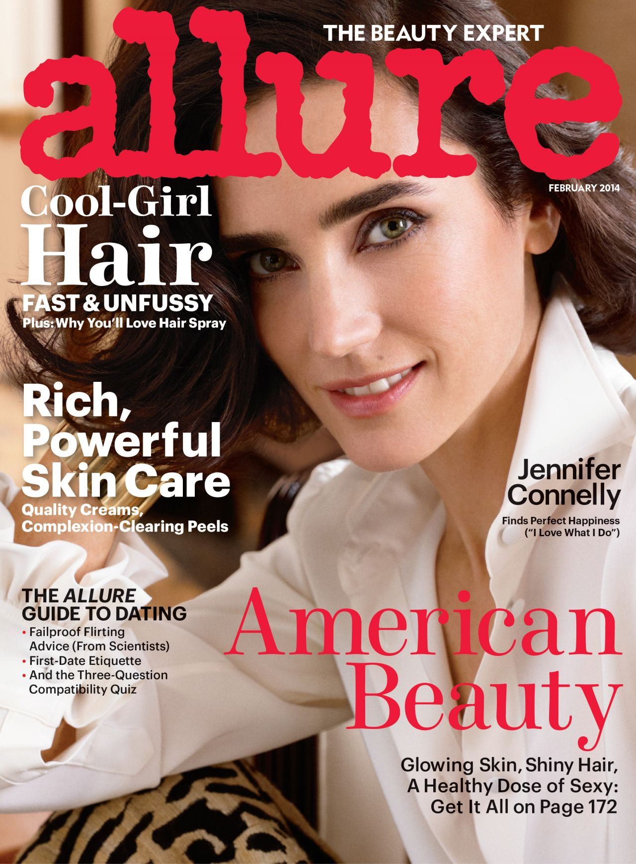 Jennifer Connelly - ALLURE Magazine- February 2014 Cover