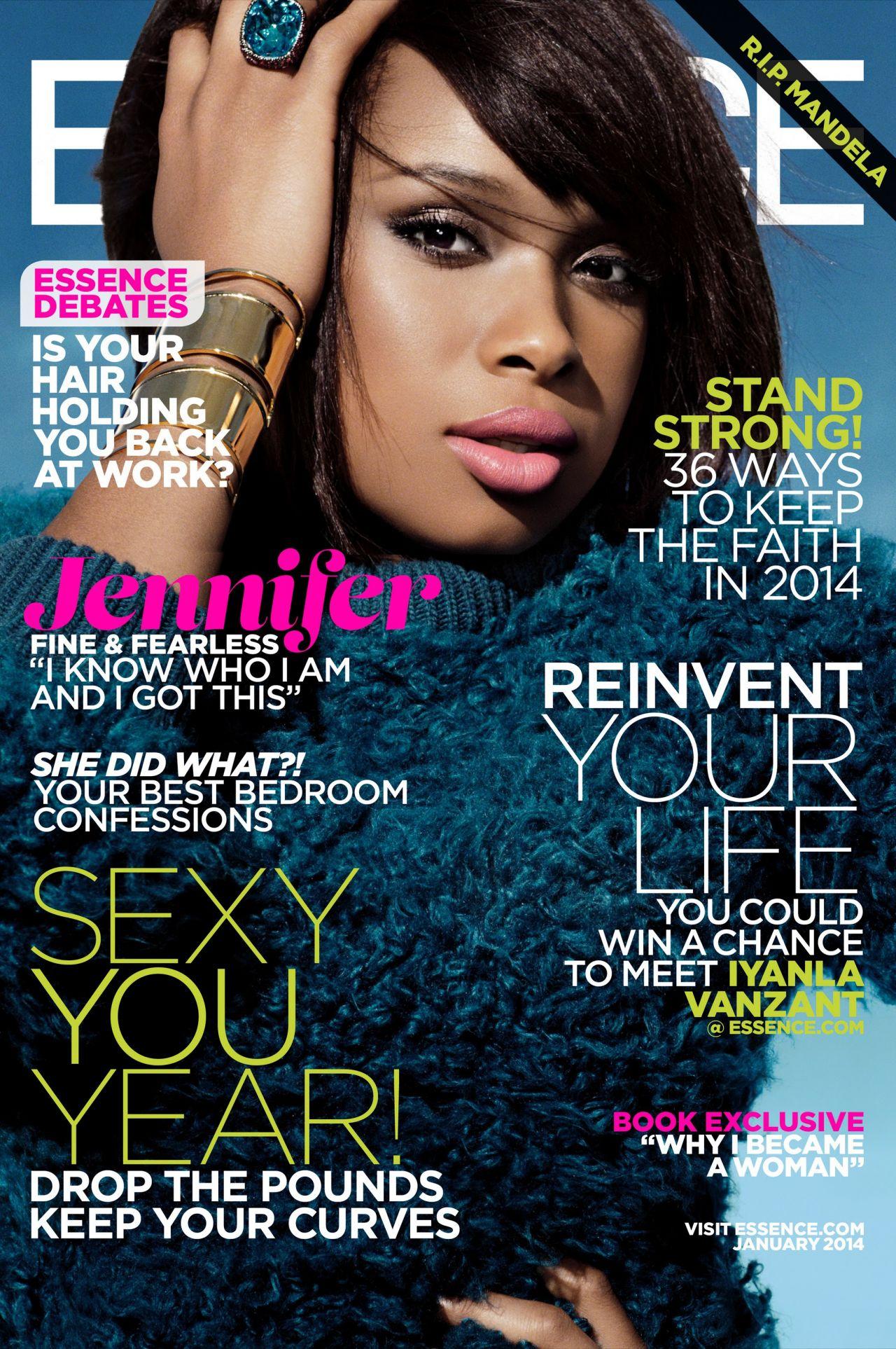Jennifer Hudson - ESSENCE Magazine - January 2014 Issue