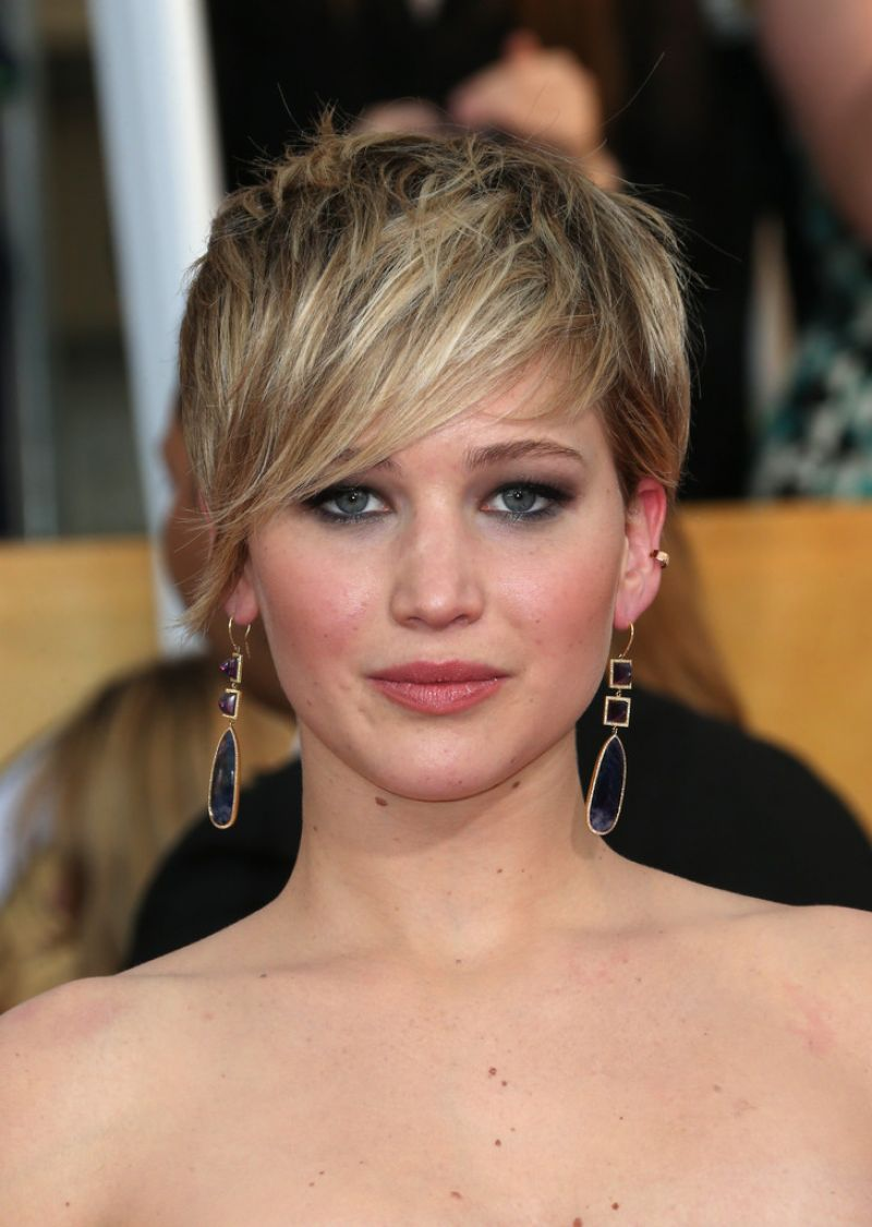 Jennifer Lawrence 2014 Sag Awards In Los Angeles