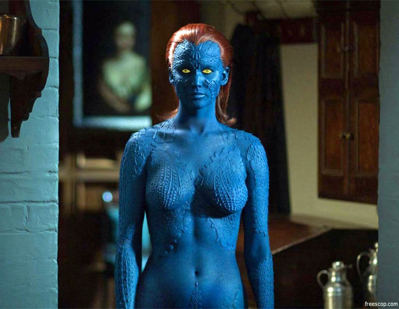 Jennifer Lawrence - Mystique Outfit from X Men (2014)