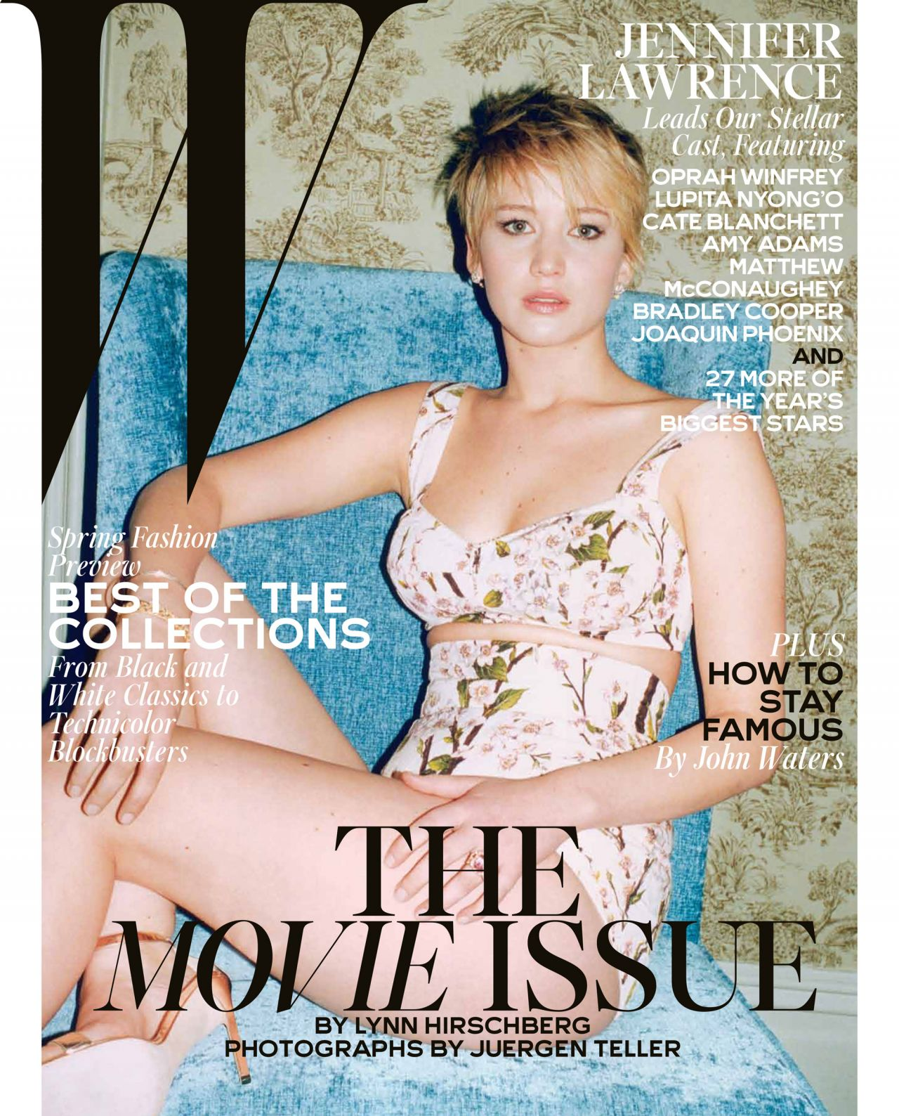 Jennifer Lawrence - W Magazine - February 2014 Issue
