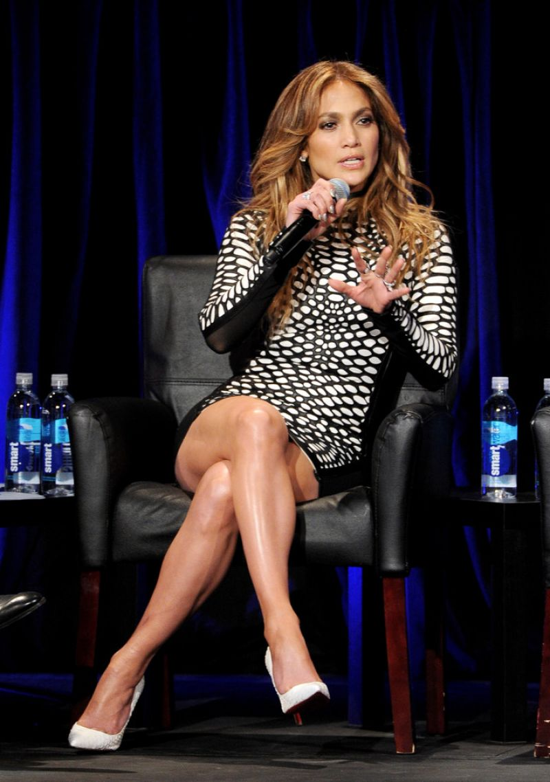 "Jennifer Lopez at ""American Idol Xlll"" Premiere in Los Angeles, January 2014"
