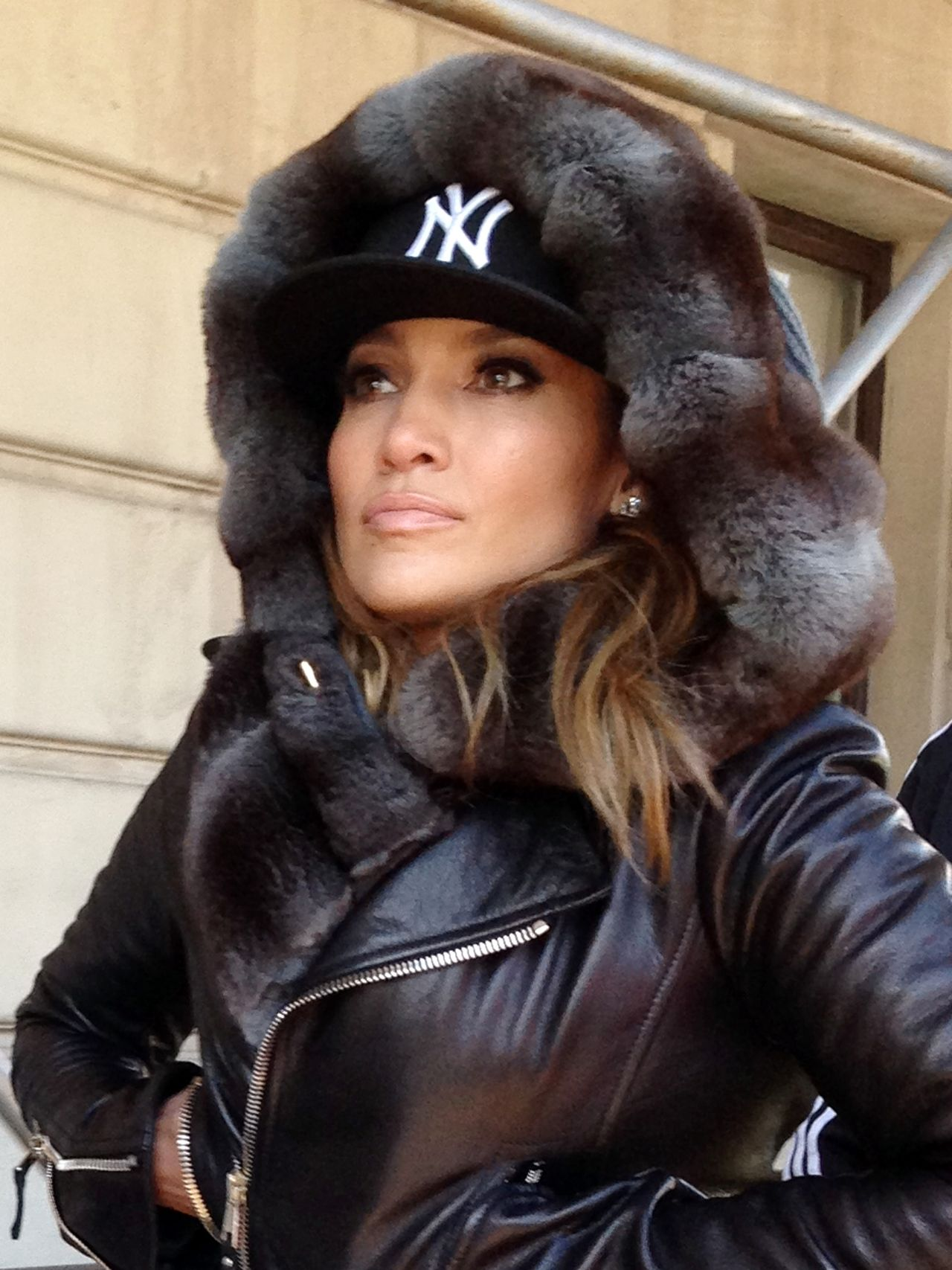 Jennifer Lopez in Central Park, New York 2014