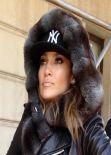 Jennifer Lopez in Central Park, New York 2014