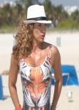 Jennifer Nicole Lee Swimsuit Candids - Miami January 2014