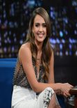 Jessica Alba - Late Night With Jimmy Fallon - New York City January 2014