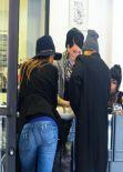 Jessica Alba - Prix Body Piercing in West Hollywood - January 2014