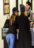 Jessica Alba - Prix Body Piercing in West Hollywood - January 2014