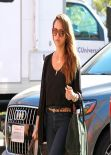 Jessica Alba Street Style - in Santa Monica, January 2014