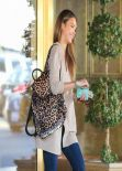 Jessica Alba Street Style - Out in West Hollywood, January 14, 2014