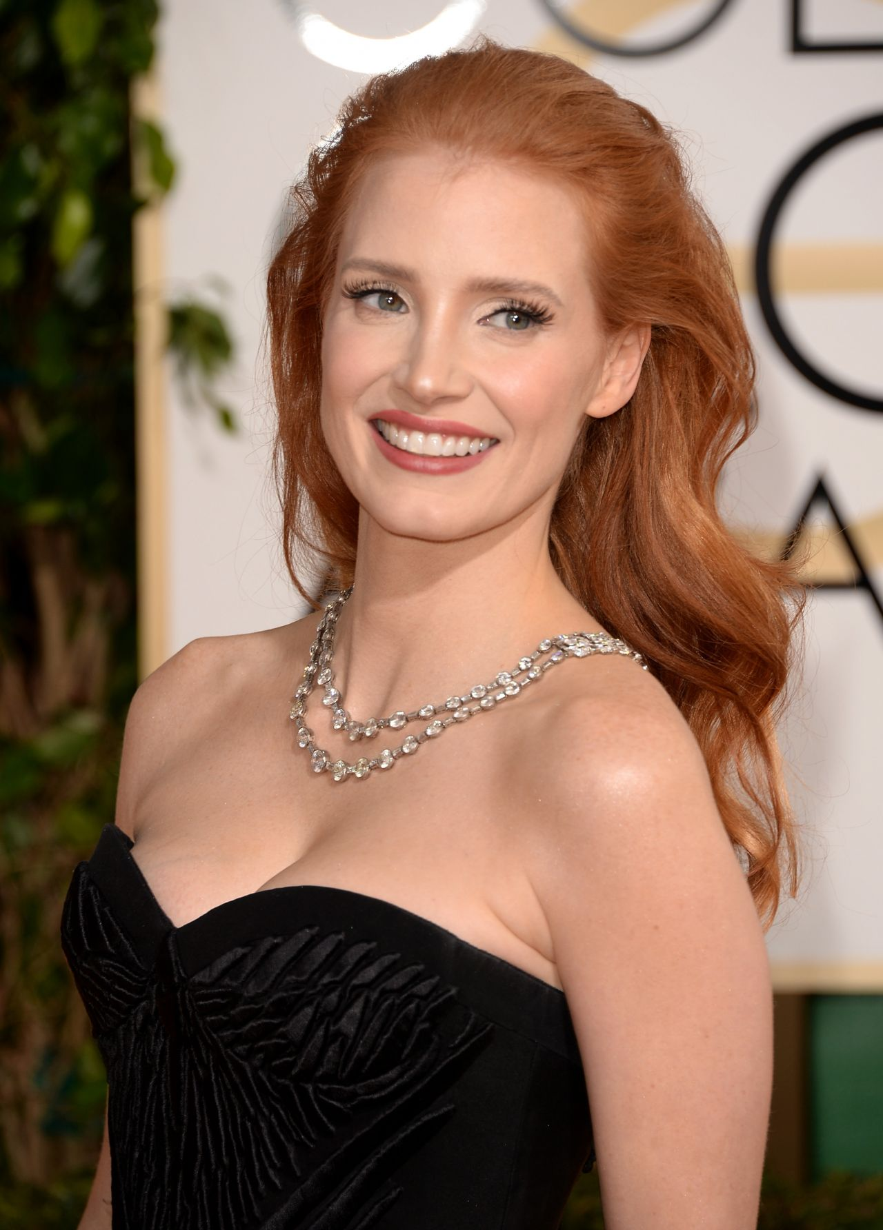 Jessica Chastain At 71St Annual Golden Globe Awards In -1282
