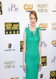 Jessica Chastain on Red Carpet - 2014 Critics Choice Movie Awards in Santa Monica