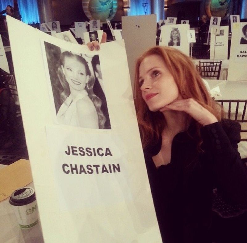 Jessica Chastain Twitter Instagram Personal Photos ... Jessica Chastain Instagram