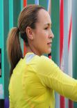Jessica Ennis at Loughborough European Athletics Permit Meeting (2013)